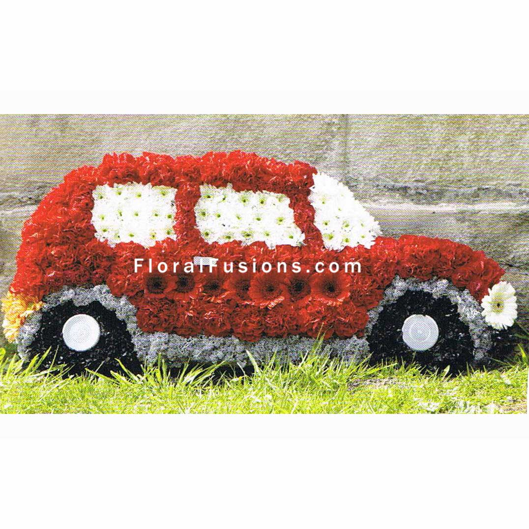 Car funeral flowers leicester shop funeral special tributes izmirmasajfo Image collections