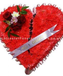 Broken Heart Funeral Tribute