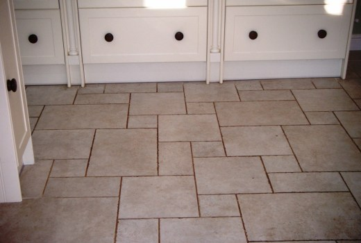 Ceramic Tile Before Cleaning Houghton on the hill