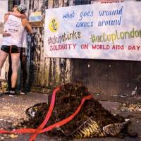 UKIP kicked out of London offices after HIV activists dump horse s**t outside