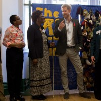 Prince Harry Visits LASS