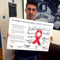 National HIV Manifesto & Leicester Halve It Pledge