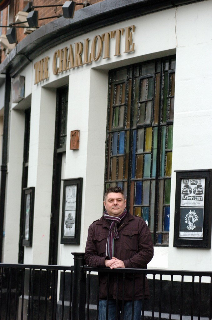 PICTURE MATT SHORT STORY BUSINESS + NEWS Story about possible closure of The Charlotte in Leicester. Owner, Andy Wright