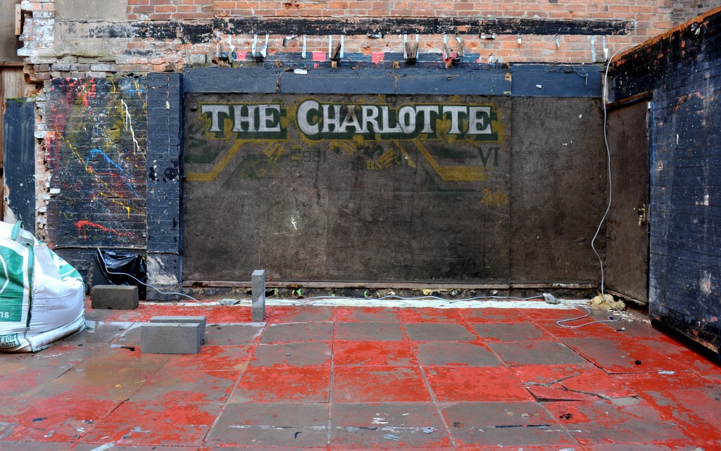 GV of what was The Charlotte pub and music venue near Newarke Street in Leicester city centre, now lying demolished, but will be reopening. Reporter - Lee Marlow PICTURE WILL JOHNSTON