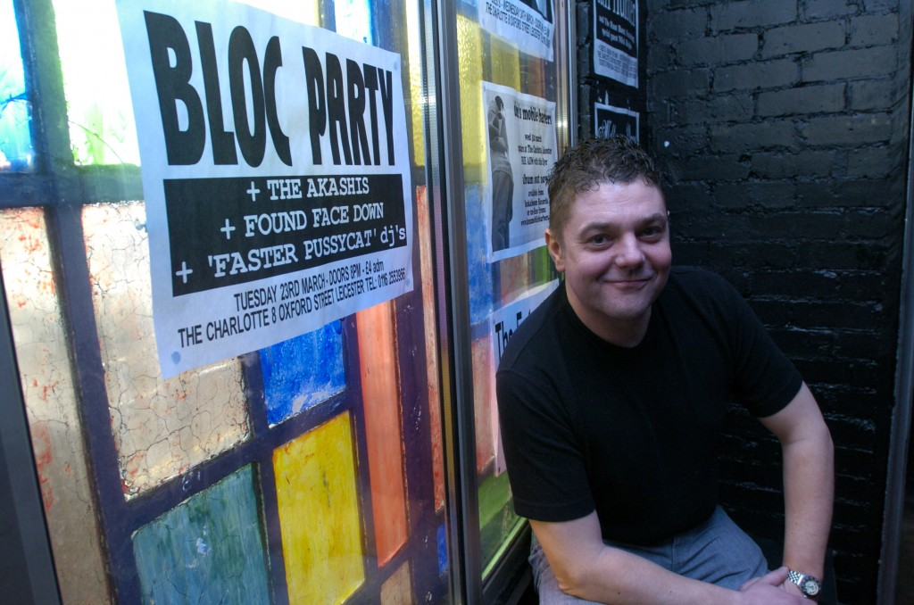 Manager and owner of The Charlotte, Andy Wright, inside the venue that has been open for 20 years.