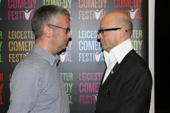 Geoff with Harry Hill