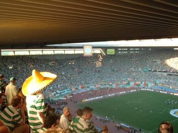 Celtic Fans in Seville