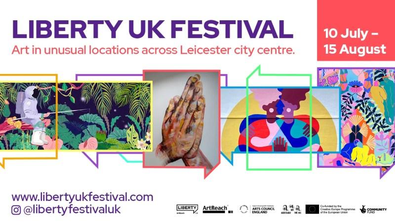 Leicester Stories – Beth Piggott and LibertyUK Festival