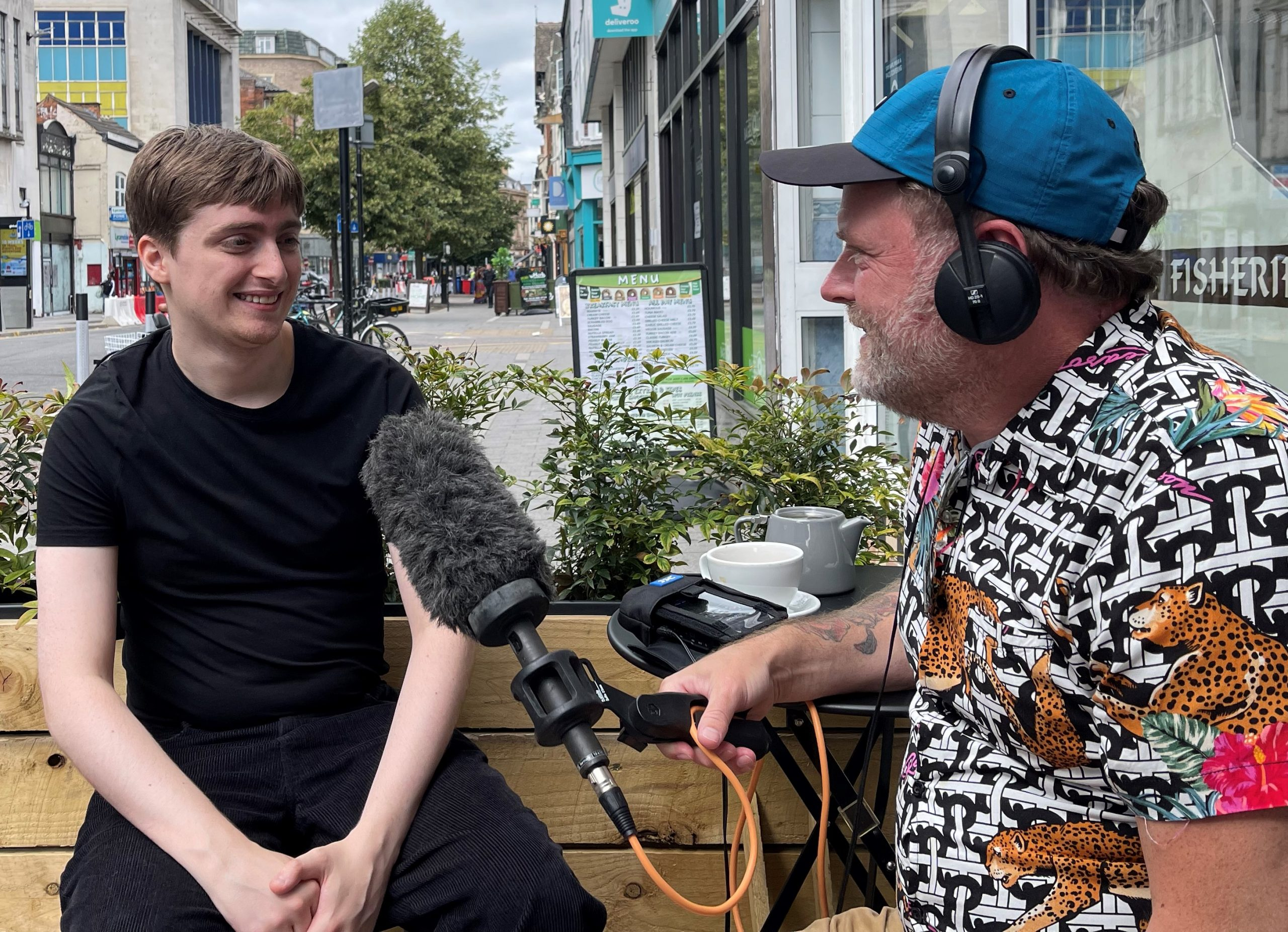 Leicester Stories Podcast – Reece Stafferton and the Leicester Citizen