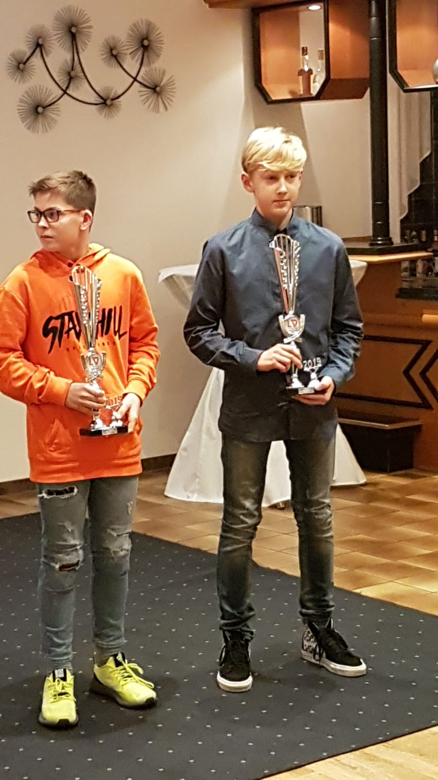 Damian Schmidt als Regionsbester in der U14 geehrt