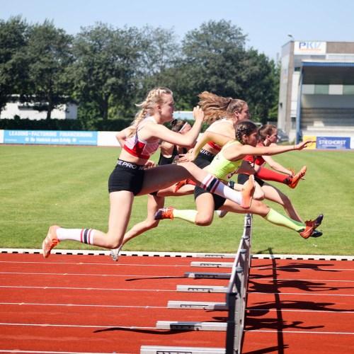 Zweiter Nordrheintitel für Charlotte Pontow im Blockwettkampf Lauf