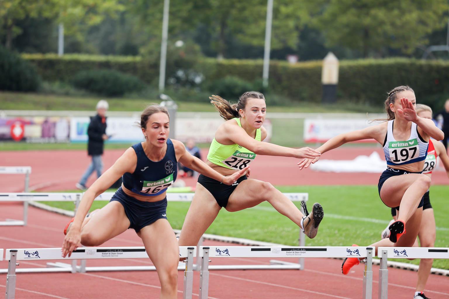 Hannah Pulukuhn überragt mit drei Titeln bei den Regio-Meisterschaften