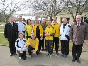 Unsere LäuferInnen mit den Lauffreunden aus Recihshoffen