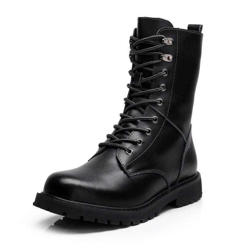 Men Leatherette Boots