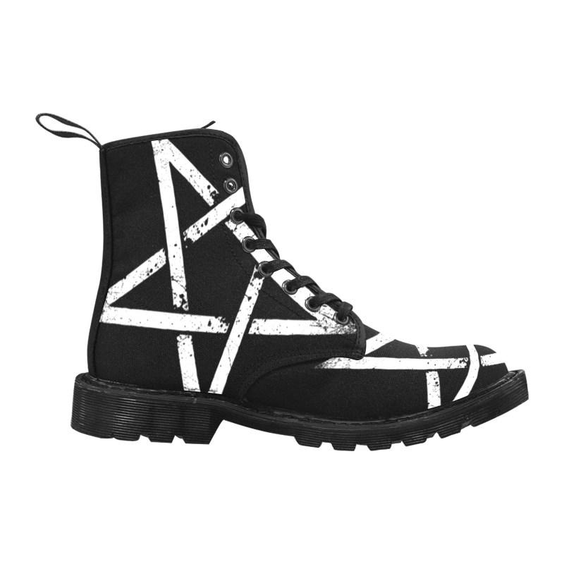 Pentagramm Boots
