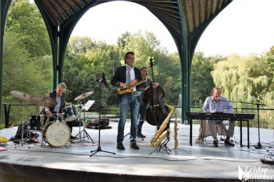 Waterlelie podium Jazz kwartet SoWhat (3)