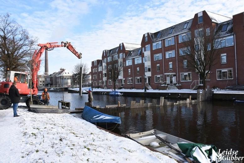 Damwand Maresingel vorst ijs (29)