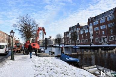 Damwand Maresingel vorst ijs (27)