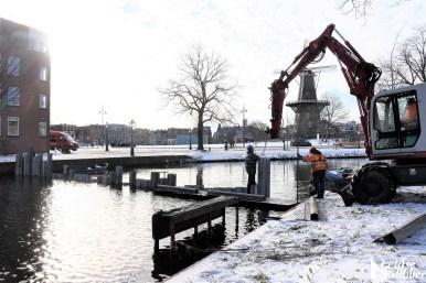 Damwand Maresingel vorst ijs (23)