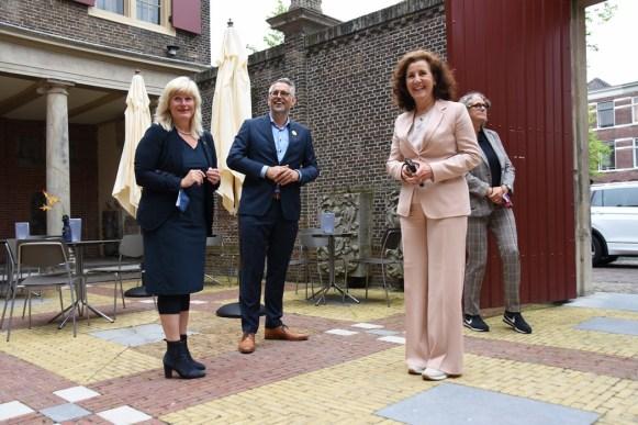 Lakenhal bezoek minister Ingrid van Engelshoven(17)