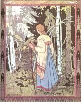 Vassilisa the Beautiful, Ivan Bilibin 1900