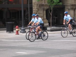 Minneapolis mountain bike cops
