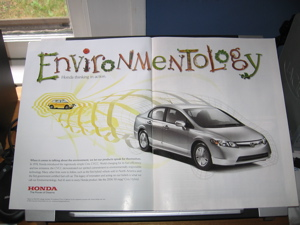 Civic Hybrid ad