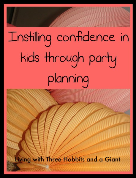 confidence party planning