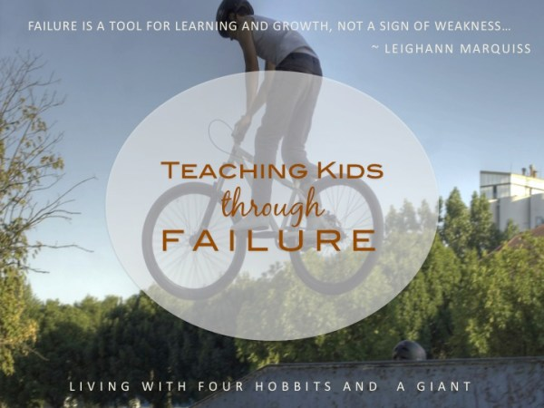 teaching kids through failure