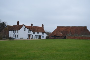 Farmhouse and Wheat Barn