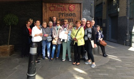 Group outside the Clink