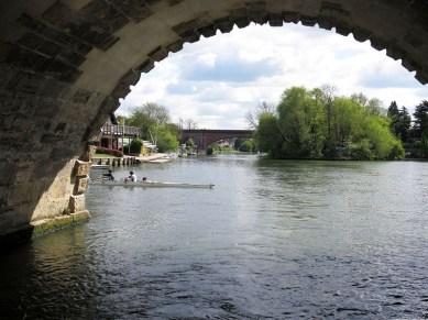 View through Bridge