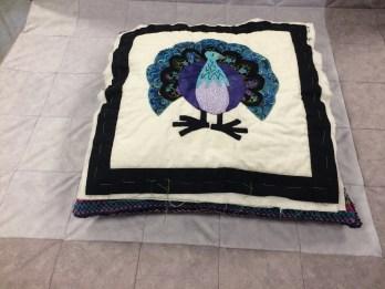 Dilys Peacock Quilt Block