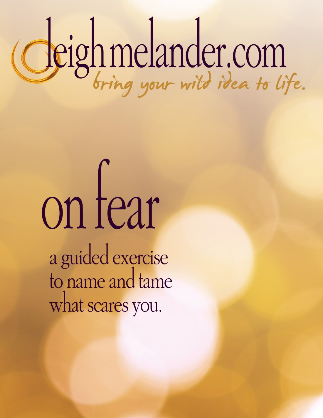 On Fear eBook Cover