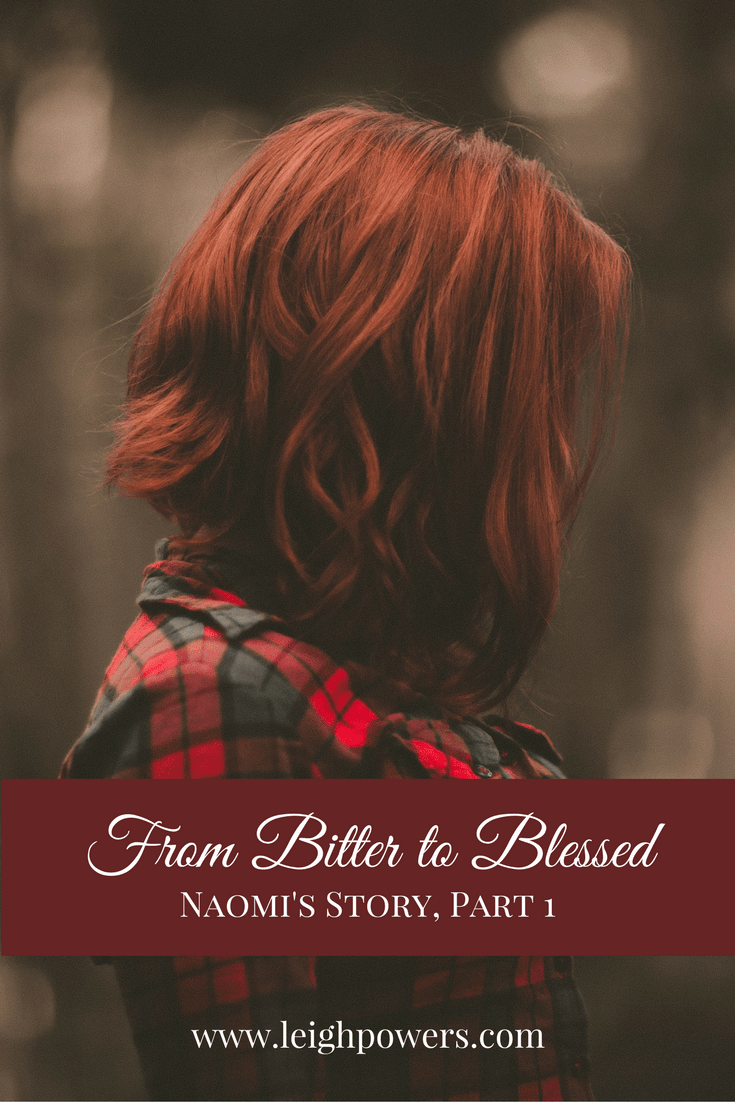 Naomi journeyed from empty to full and from bitter to blessed. Part 1 of Naomi's story. #biblestudy