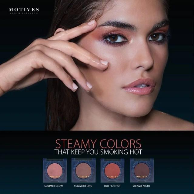 Steamy Colors eyeshadow