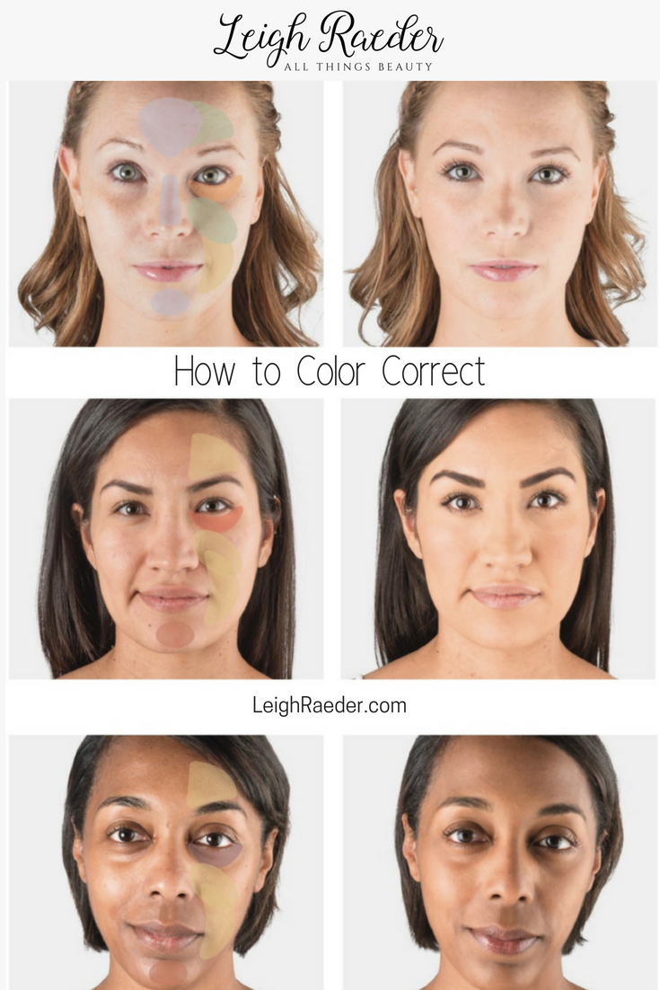 Learn How to Color Correct Your Face-Before you can begin to even think about contouring or applying bronzer, you have to lay the foundation (so to speak) for a flawless finish. Color correcting will help you eliminate your complexion concerns by neutralizing imperfections.