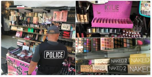 LA PD Seize Contaminated makeup