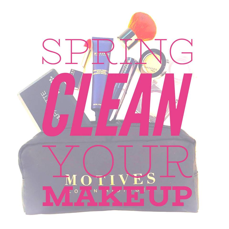 Spring Clean Your Makeup and Skincare