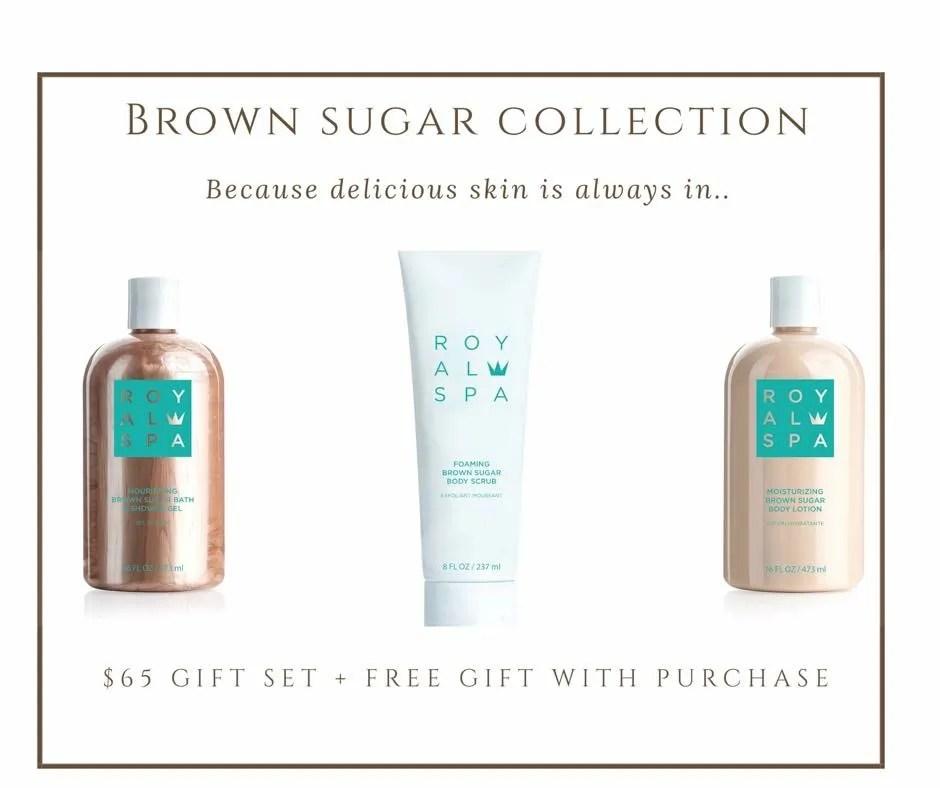 Introducing: Royal Spa Brown Sugar Collection