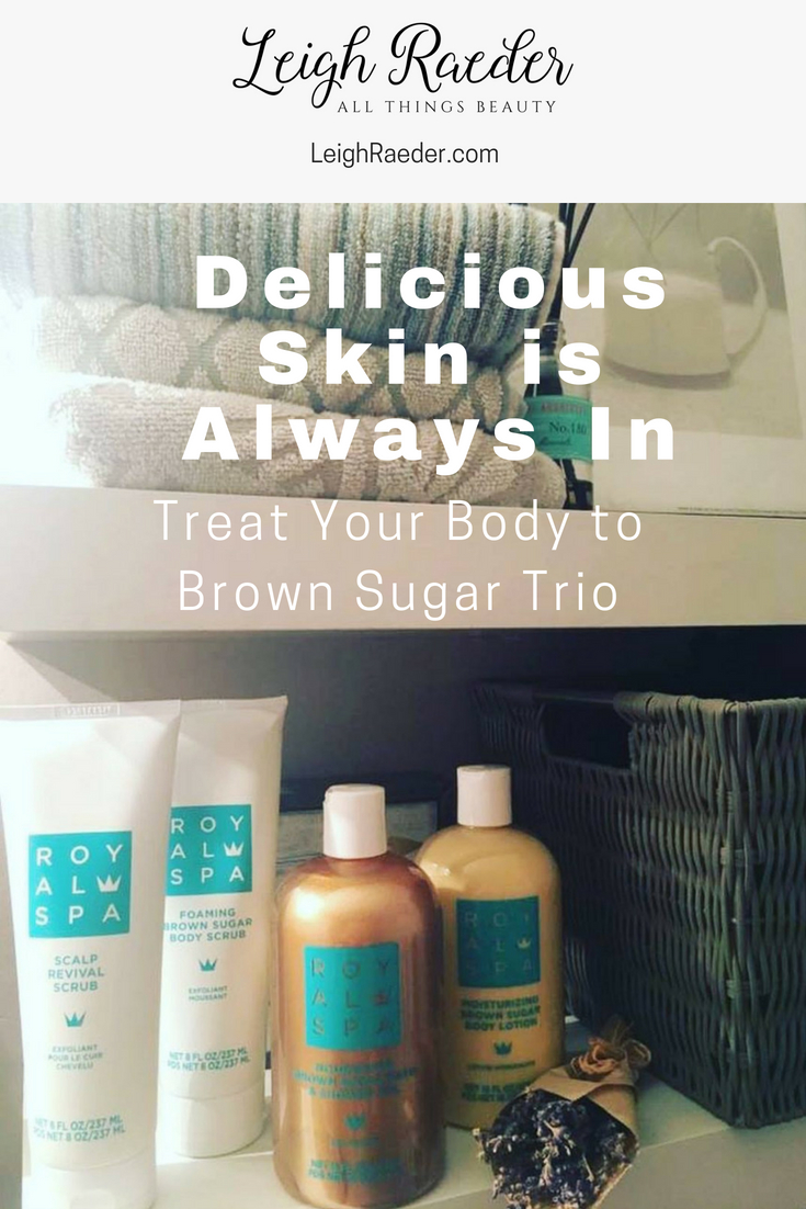 Royal Spa introduced Foaming Brown Sugar Scrub, Nourishing Brown Sugar Bath & Shower Gel, and Moisturizing Brown Sugar Body Lotion. I was able to be one of the first to try this collection, and I know you'll love it just as much as I do!