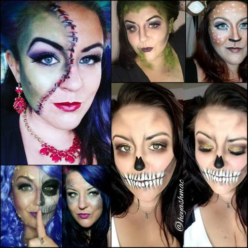 halloween looks using everyday makeup  all things beauty