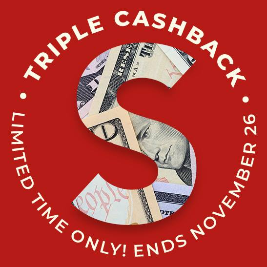 Earn Triple Cash Back on Your Cyber Monday Shopping