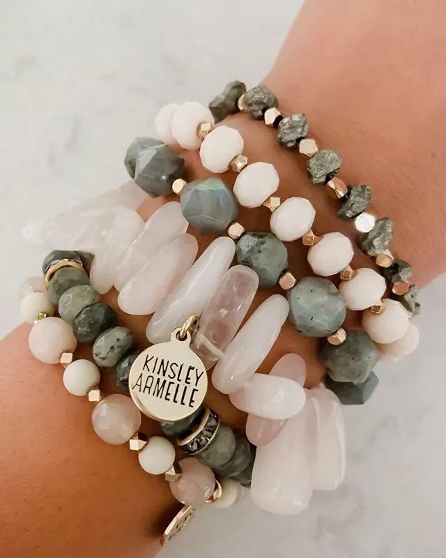 Kinsley Armelle Bracelet Stack