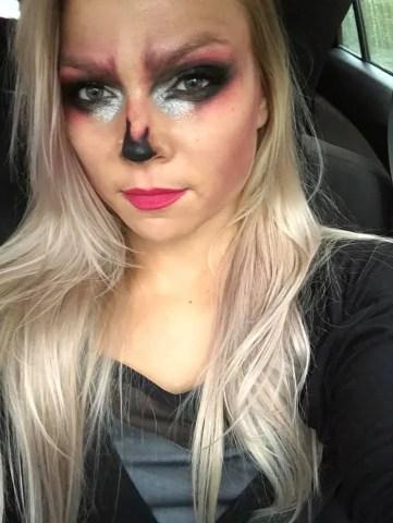 Scull Halloween Makeup
