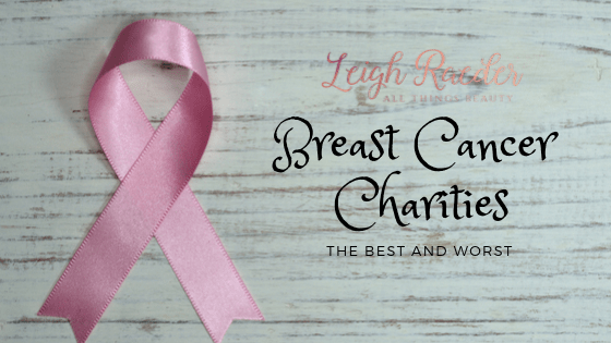Breast Cancer Charities-The Best and Worst