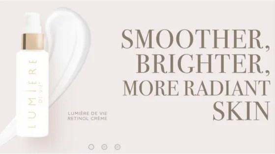 Introducing: Lumière De Vie Retinol Crème