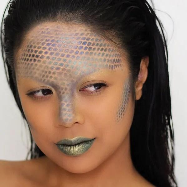 Snake Halloween Makeup