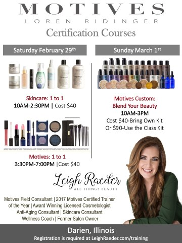 Makeup and Skincare Certification Courses in Darien Illinois Chicago