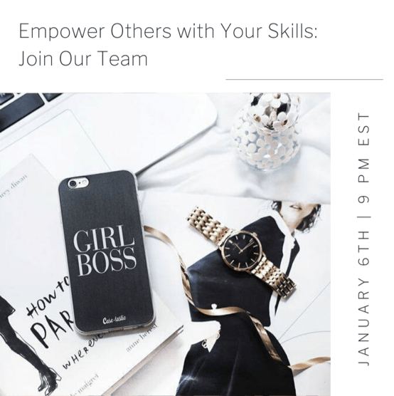 FREE WEBINAR-Learn How YOU Can Empower Others with Your Skills
